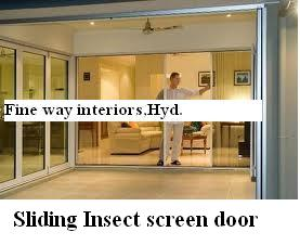 Sliding Insect Screen Doors